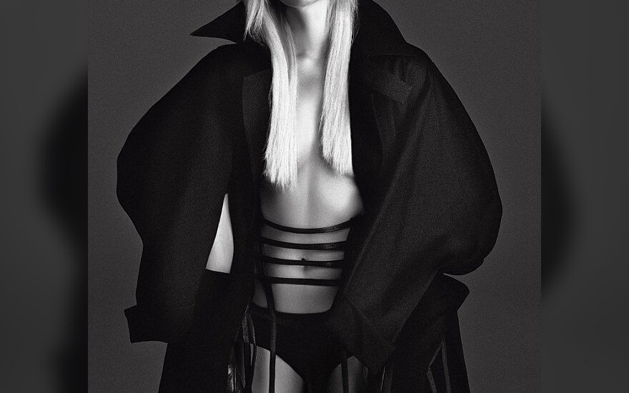 "Paris Hilton    Žurnalo V (""Daniele&Iango"") nuotr."