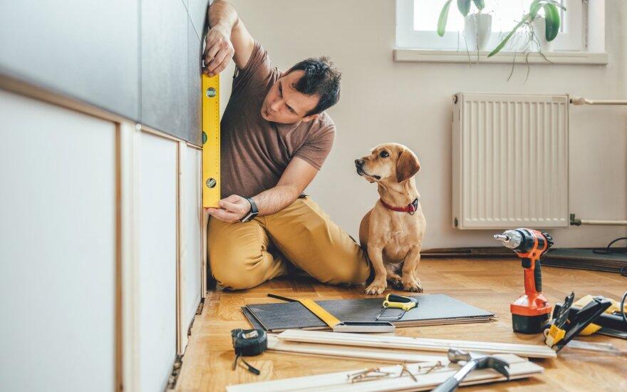 Kaip ir kokius įrankius rinktis, jeigu remontą namuose atliekate patys?