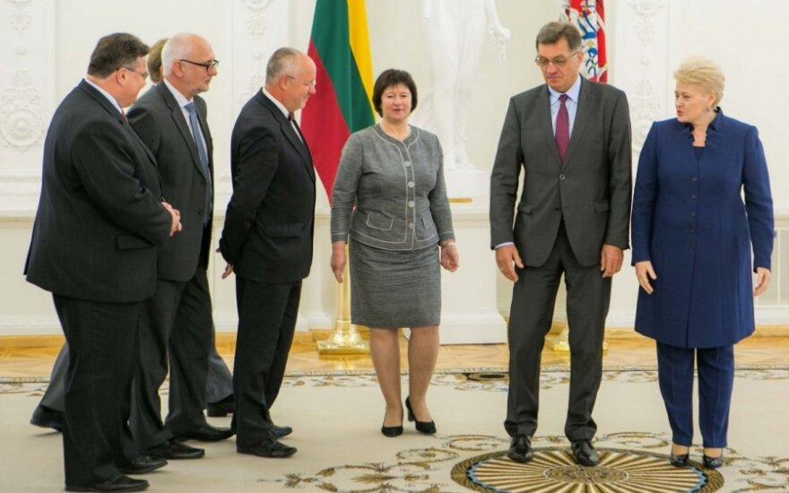 Ministers of the Lithuanian Government