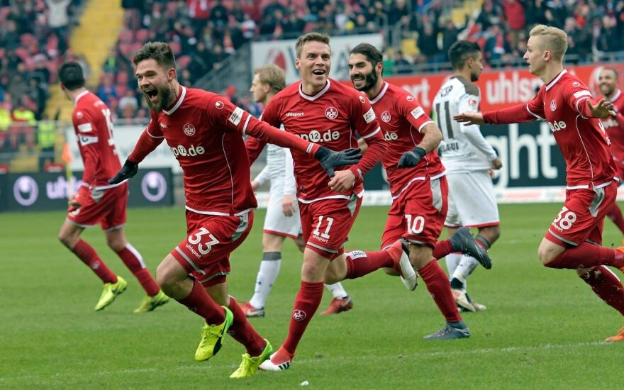 """Lukas Spalvis (FC """"Kaiserslautern"""")"""