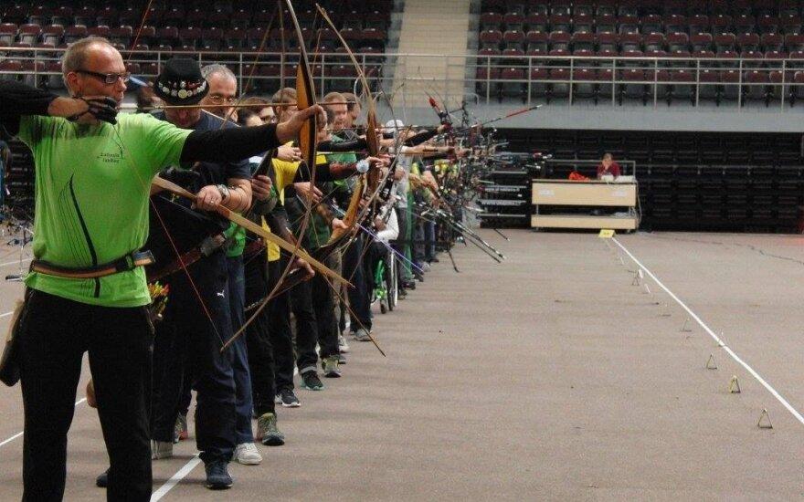 Šaudymo iš lanko varžybos / FOTO: Žaliojo lanko