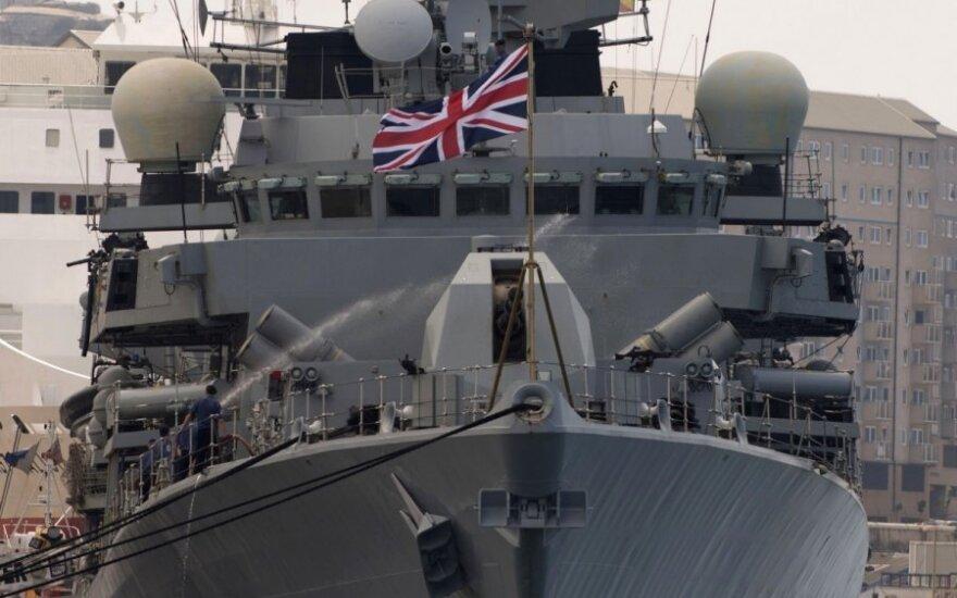 """Britanijos karo laivas """"HMS Westminster"""""""