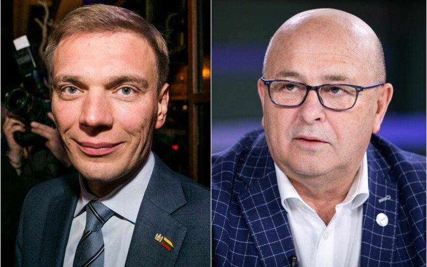 Mindaugas Puidokas ir Visvaldas Matijošaitis
