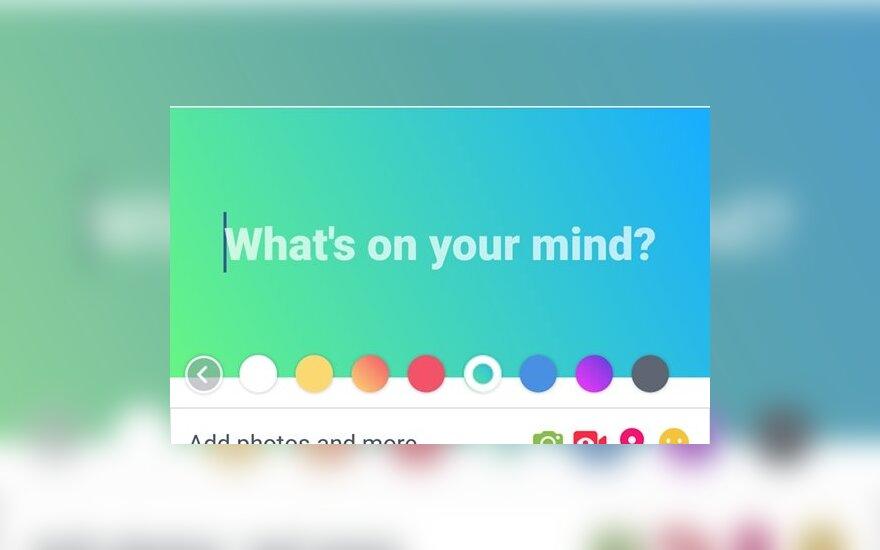 """""""Facebook"""" jau dirba 60 žmonių, kad galėtų skaityti jūsų mintis"""