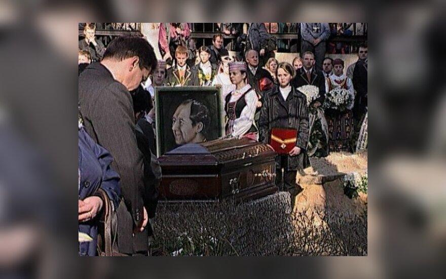 Ričardo Mikutavičiaus laidotuvės