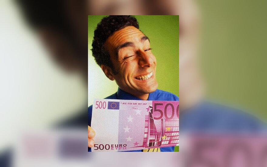 Vyras, pinigai, godumas