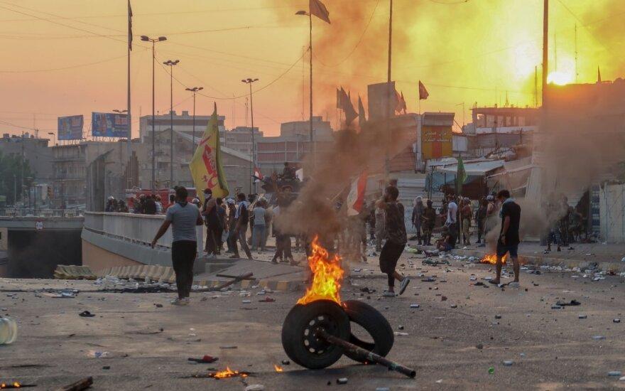 Protestai Bagdade