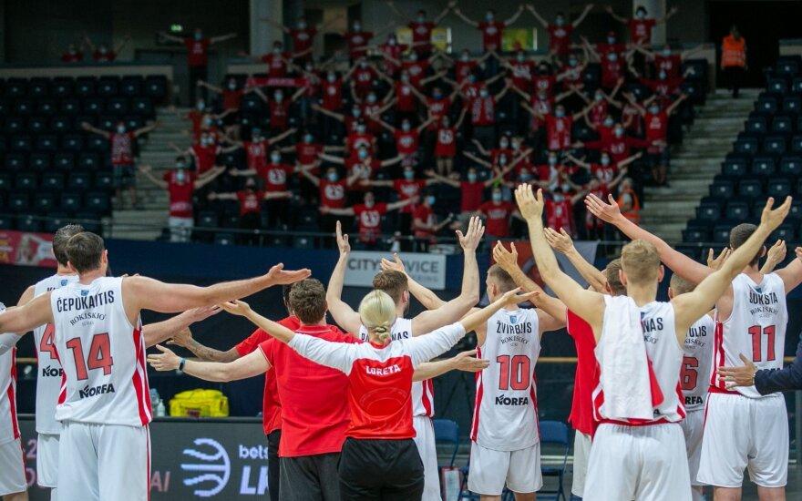 Atvykus į FIBA Čempionų lygos atrankos turnyrą uteniškių gretose nustatytas koronaviruso atvejis