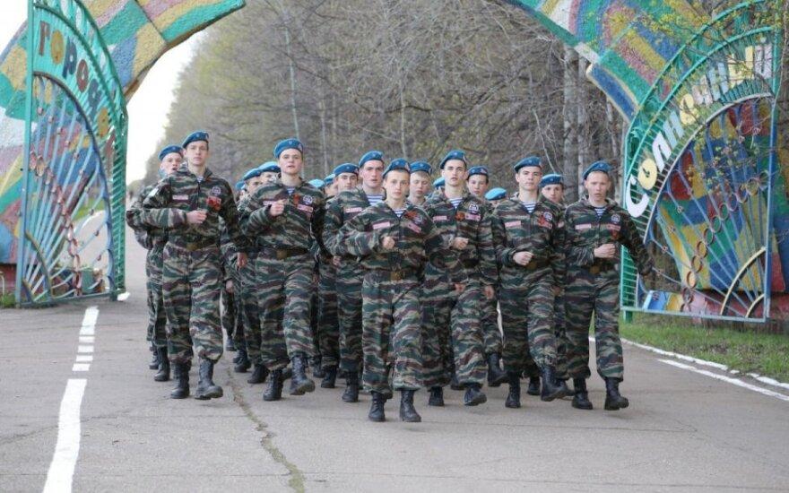 """Rusijoje vykęs renginys """"Sojuz 2014 – pergalės paveldėtojai"""" (soldatru.ru nuotr.)"""