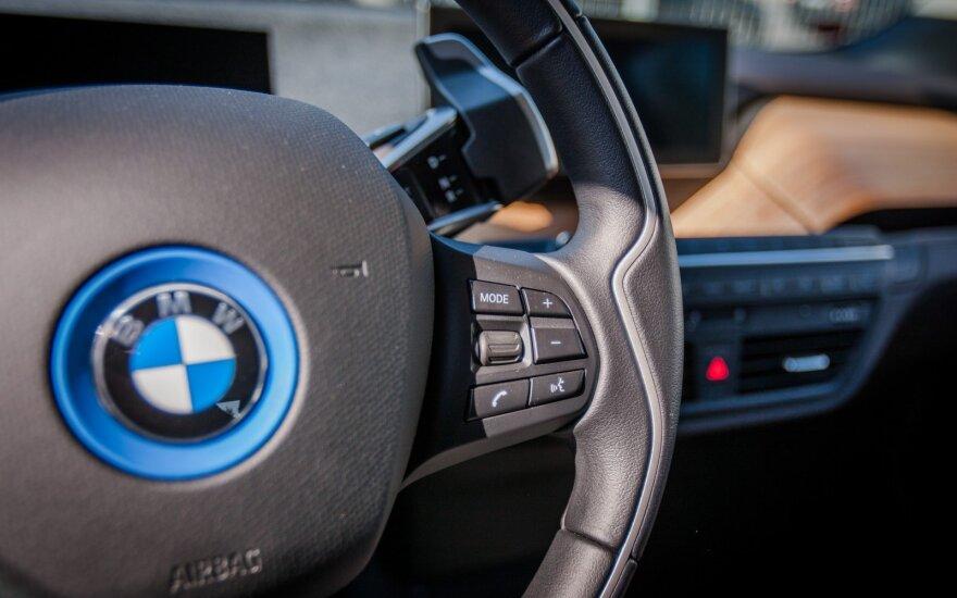 BMW gamins dar vieną elektromobilį