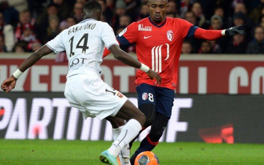 """Salomonas Kalou (""""Lille"""", dešinėje)"""