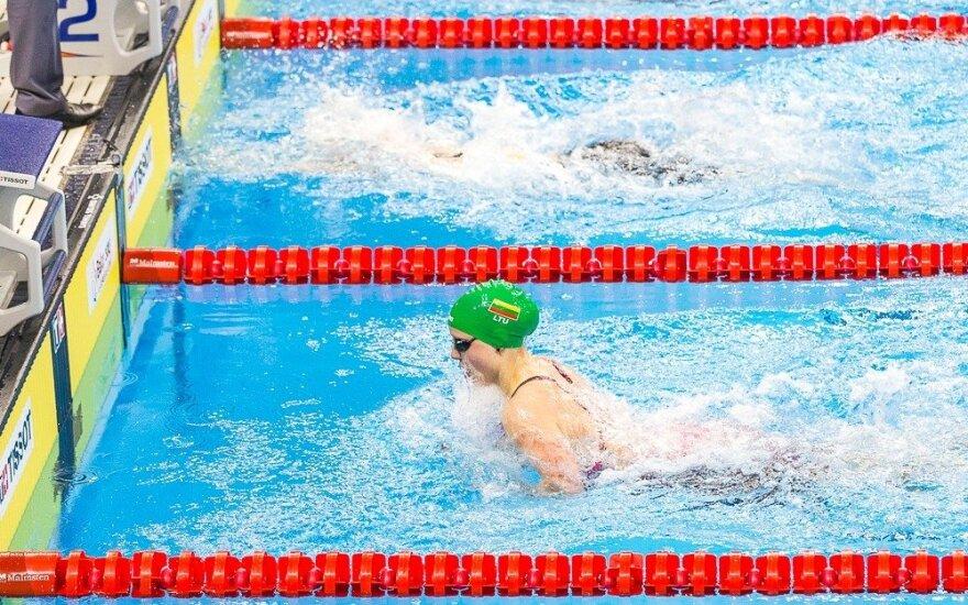 Asmeninio rekordo nepakako: A. Šeleikaitė liko už finalo borto