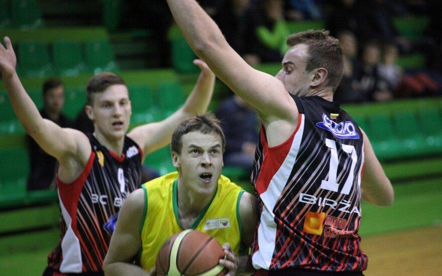 Anykščių krepšinio komandos atstovas