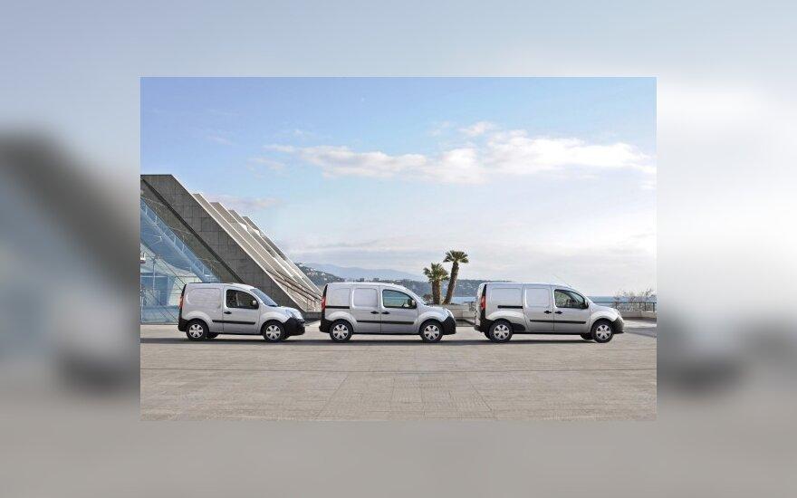 Renault Kangoo modeliai