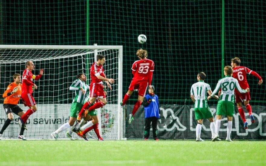 Šis A lygos sezonas – paskutinis: vyks bendras Lietuvos ir Latvijos čempionatas?