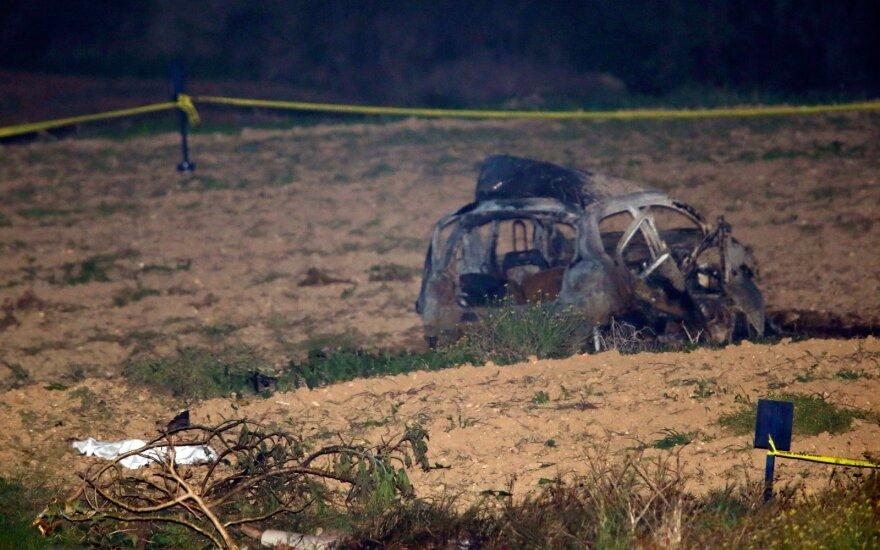 Maltoje vyriausybę kritikavusi tinklaraštininkė žuvo susprogus automobilyje paliktam sprogmeniui