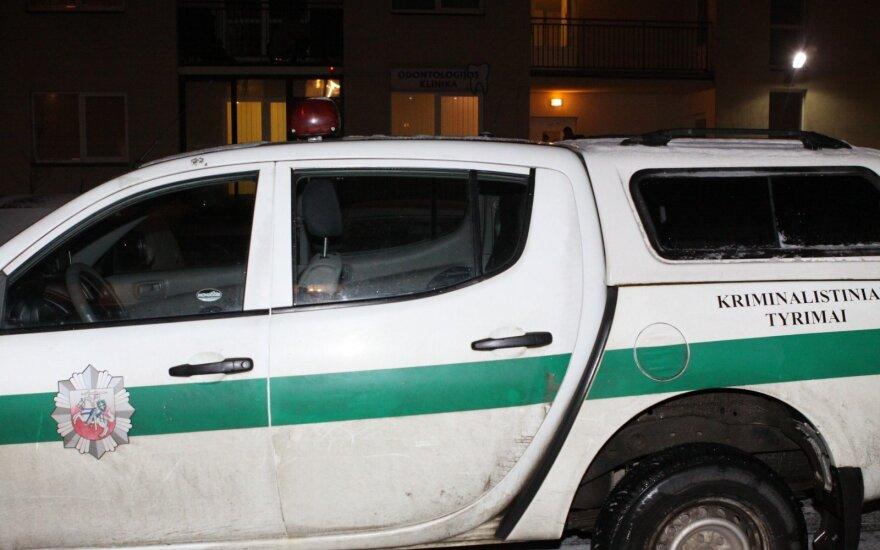 Visagine nužudytas žmogus, policija sulaikė tris įtariamuosius