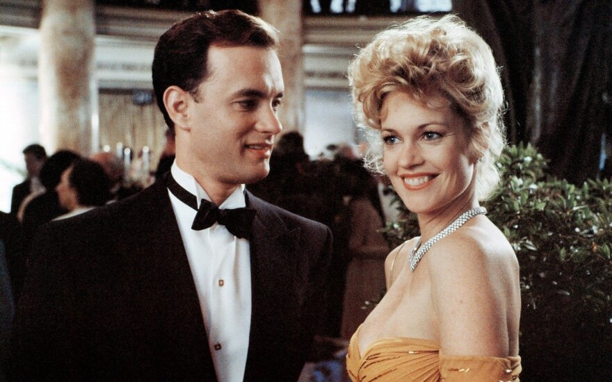 Melanie Griffith ir Tom Hanks