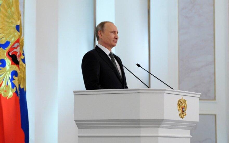 Vladimiro Putino pranešimas šalies parlamento žemiesiems rūmams