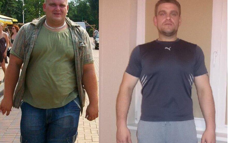 67 kg numetęs šiaulietis: gyvenimas nušvito kitom spalvom