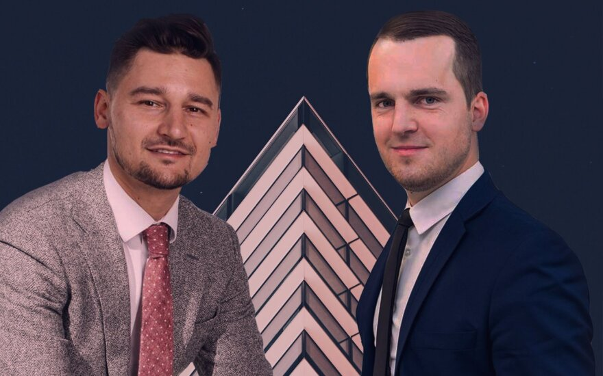 Ignas Jurgaitis ir Mantas Mikočiūnas