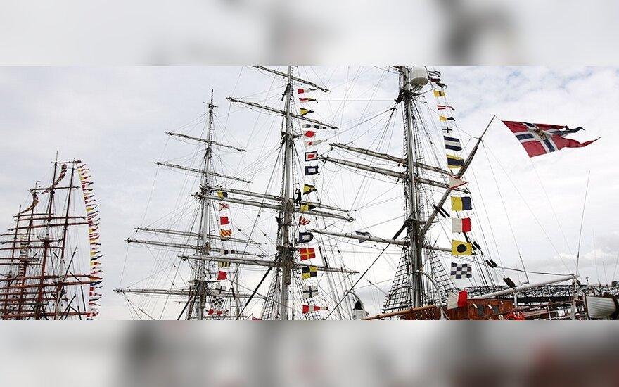 Klaipėdoje vasaros sezoną atidarys naktinis laivų paradas