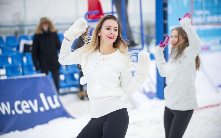 Lietuvos sniego tinklinio čempionatas Jonavoje