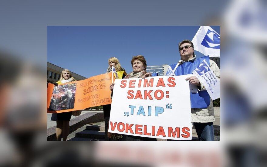Gegužės 1-ąją Vilniuje turėtų žygiuoti 4 tūkst. profsąjungiečių