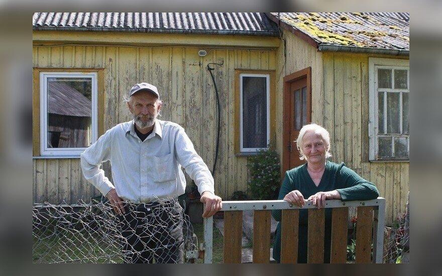 Gyvena iš 150 eurų pensijos ir vis tiek laimingi