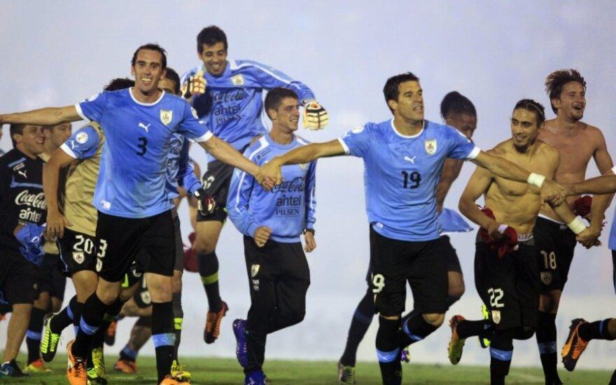 Urugvajaus rinktinės futbolininkai