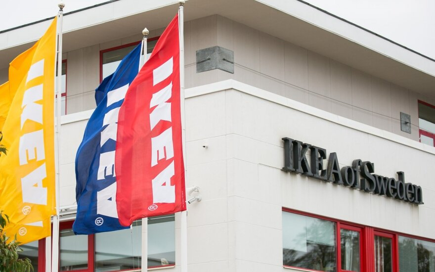 """""""Ikea"""" sukurs 1300 naujų darbo vietų Jungtinėje Karalystėje"""