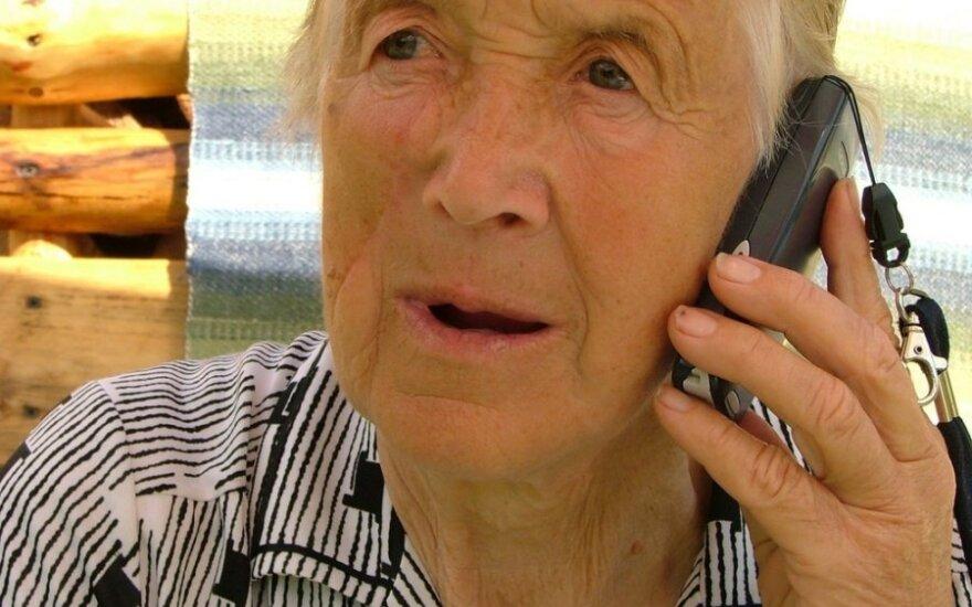 Mobilusis ryšys senjorams: išskirtiniai planai, ypatingi telefonai