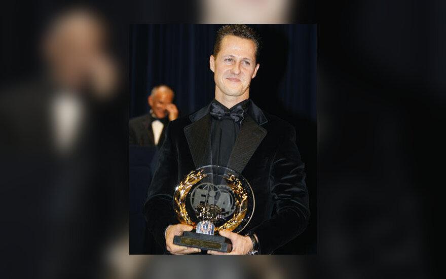 Michael Schumacher su FIA apdovanojimu