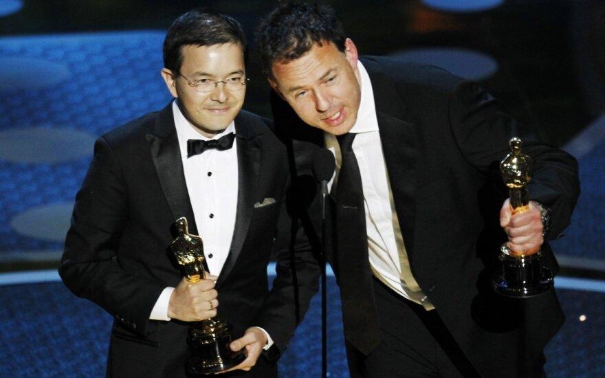 Shaunas Tanas ir Andrew Ruhemannas atsiima Oskarą