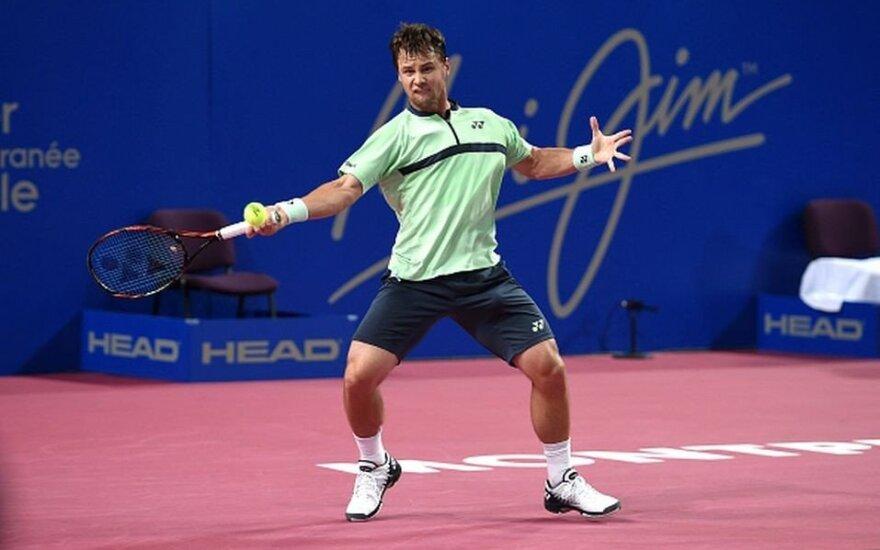 Amerikietį įveikęs Berankis pateko į pagrindinį ATP 500 turnyrą Meksikoje