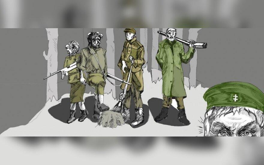Partizanai visada laimi. Keturi šunys ir tankistas (VII)