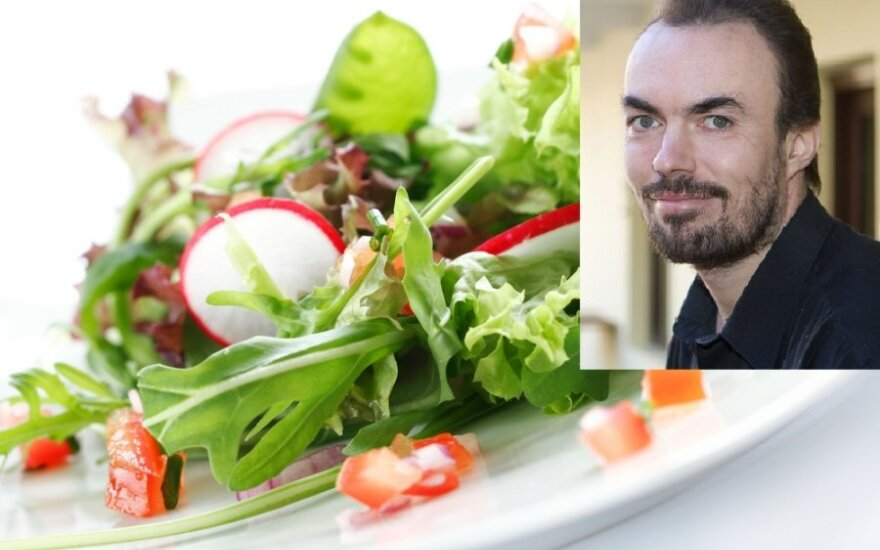Michailas Sovetovas mano, kad žaliavalgystė - natūralus žmogaus mitybos būdas