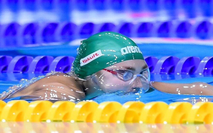 Pasaulio plaukimo čempionatas, Rūta Meilutytė