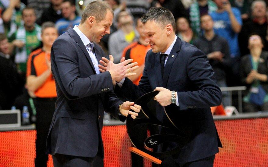 Ramūnas Šiškauskas ir Šarūnas Jasikevičius
