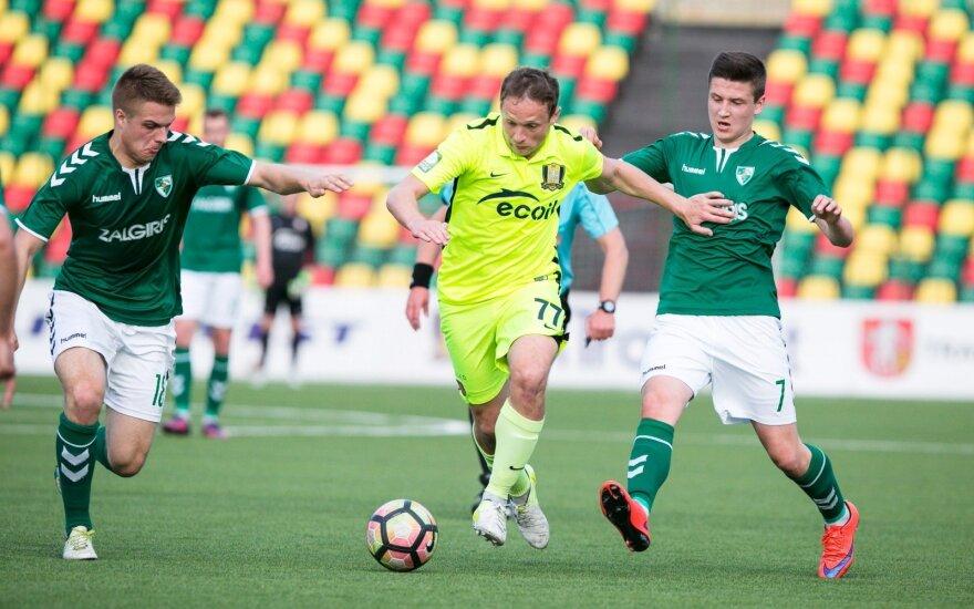 "Lietuvos futbolo A lyga: ""Kauno Žalgiris"" – ""Trakai"""