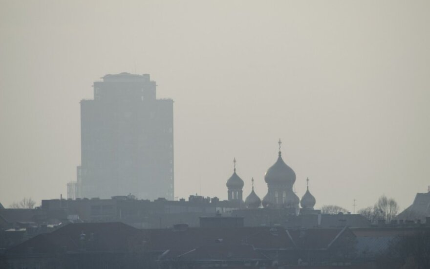Smogas sostinėje