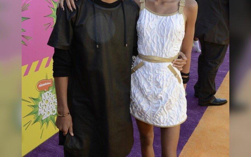 Jadenas ir Willow Smith