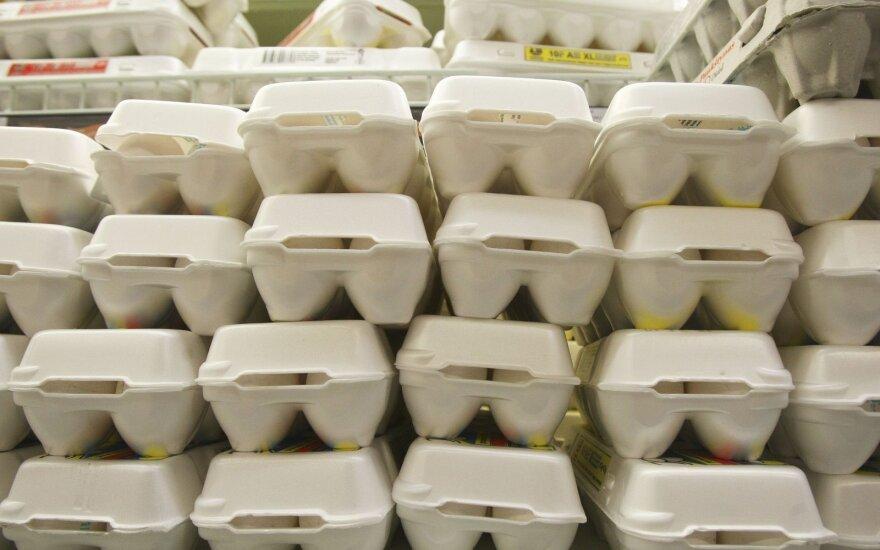 Patikrino prekiaujančius kiaušiniais: ką rado
