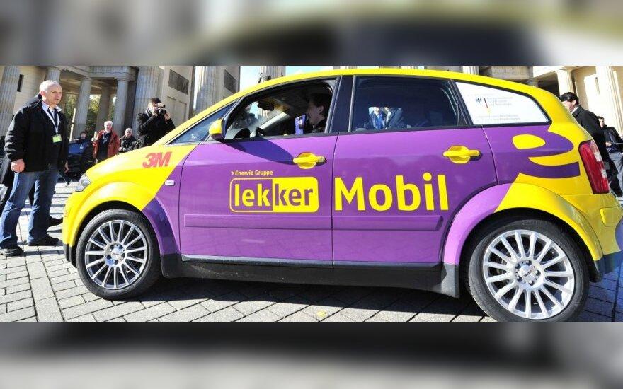 Vokiško elektromobilio baterija leidžia nuvažiuoti 450 km