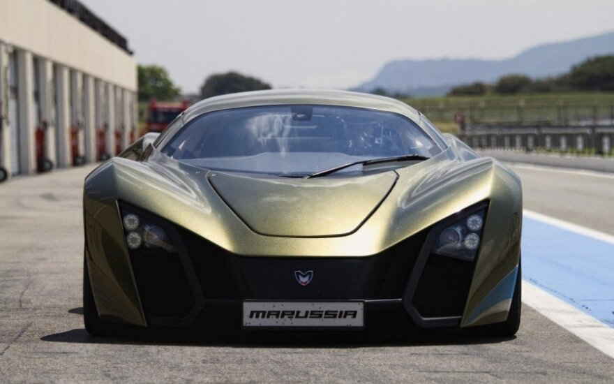 "Graibstomi ""Marussia"" superautomobiliai"