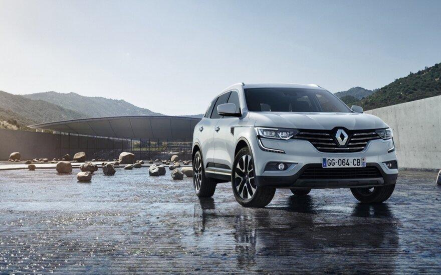 """Antros kartos """"Renault Koleos"""""""