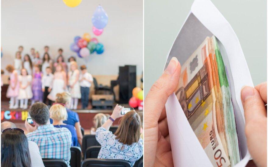 Rinkliavos darželio auklėtojoms ne juokais supykdė kitus tėvus: prie dovanos – vokeliai po 300 Eur