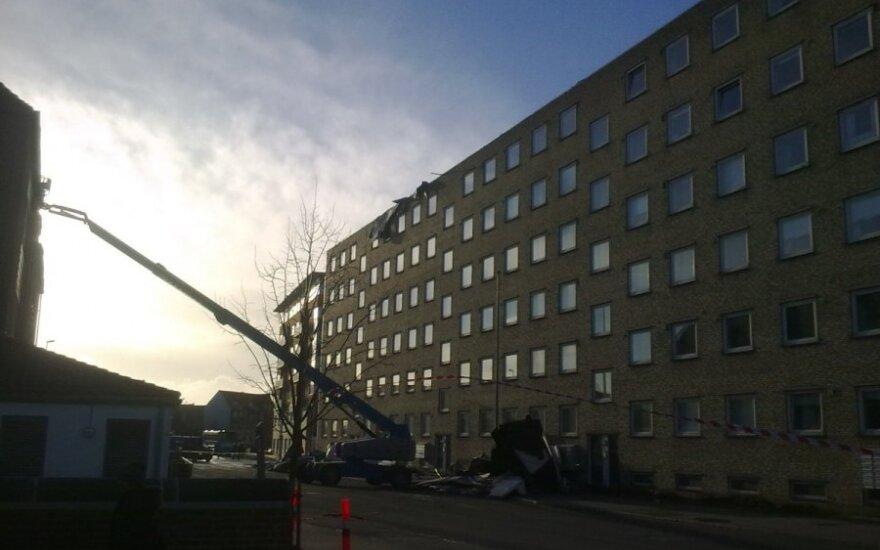 Danijos lietuvis – po uragano: išvirtusių medžių ar nulaužtų šakų net nebeskaičiavau kaip žalos