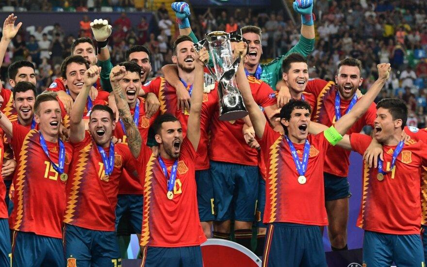 Ispanijos rinktinės triumfas Europos jaunimo čempionate