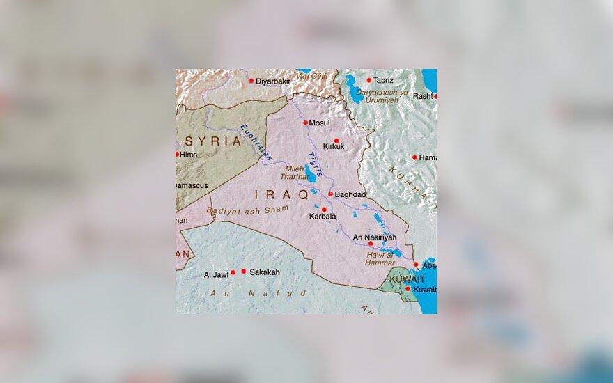 Irako žemėlapis